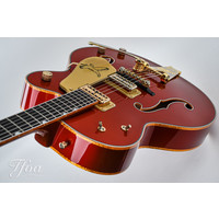 Gretsch G6136TLCS 2012 Faded Candy Apple Red Falcon Custom Shop