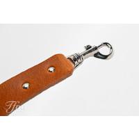 TFOA Leather Banjo Strap Light Brown