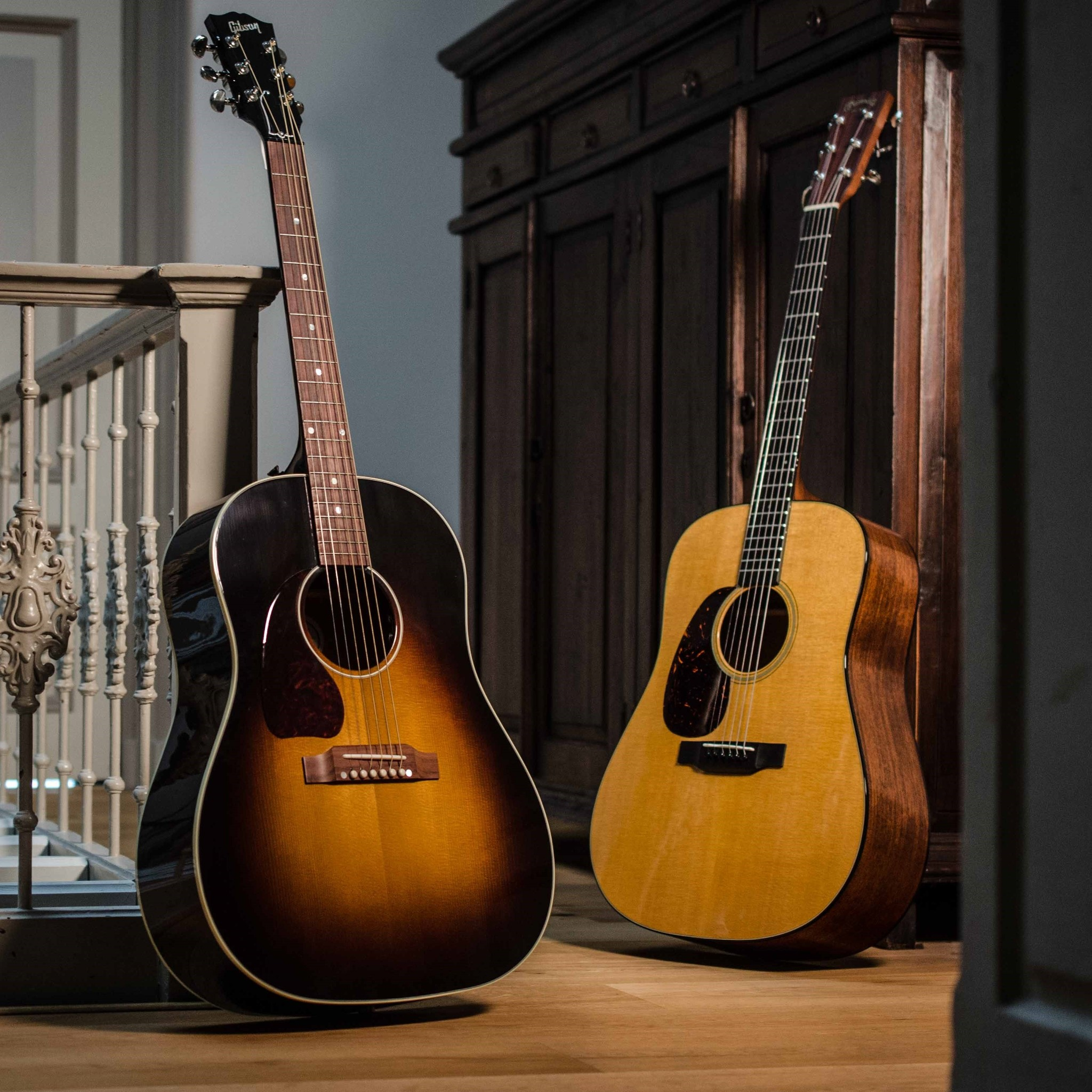 The Gibson J45 or the Martin D18?