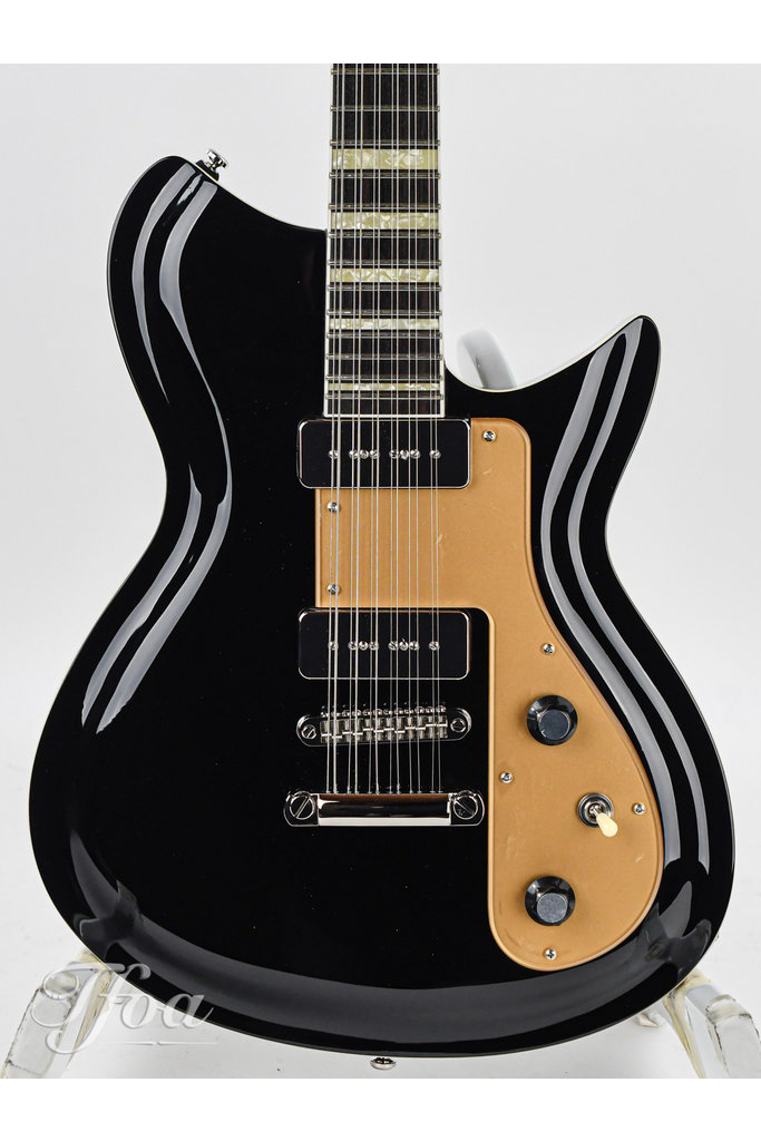 Rivolta Combinata 12 String Toro Black