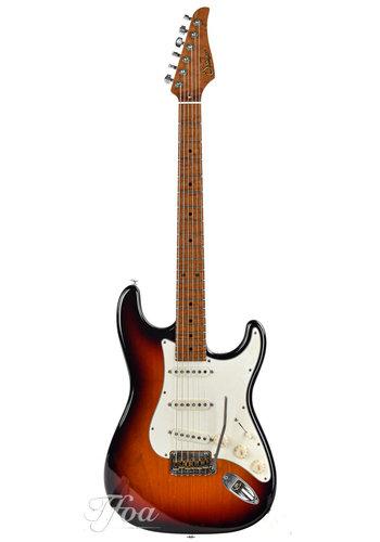 Suhr Suhr Classic S Antique 3 Tone Burst LTD Flamed Maple