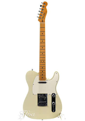 Fender Fender Custom Shop Sweetwater Special Custom Deluxe Telecaster Olympic White 2010