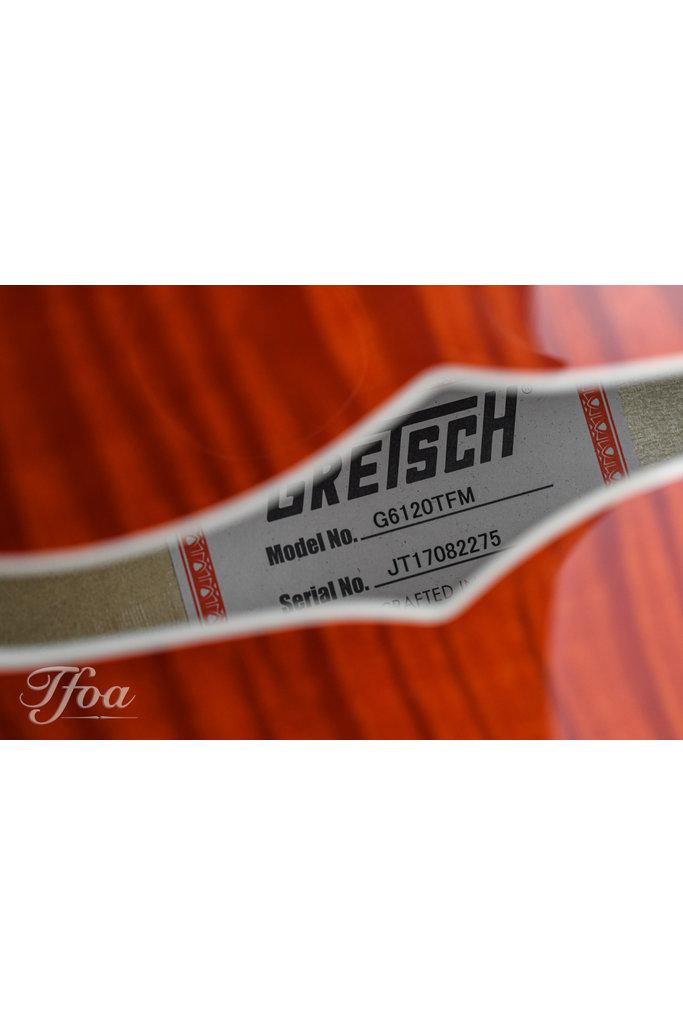 Gretsch G6120TFM Nashville Flame Maple 2017