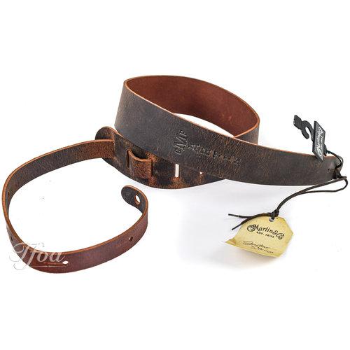 Martin Martin Brown Belt Leather Vintage Guitar Strap 18A0065