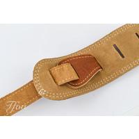 Martin Baseball Glove Leather Guitar Strap, Brown 18A0012