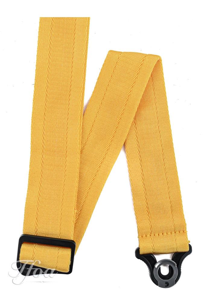 D'Addario Auto Lock Guitar Strap Mellow Yellow