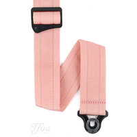 D'Addario Auto Lock Guitar Strap New Rose
