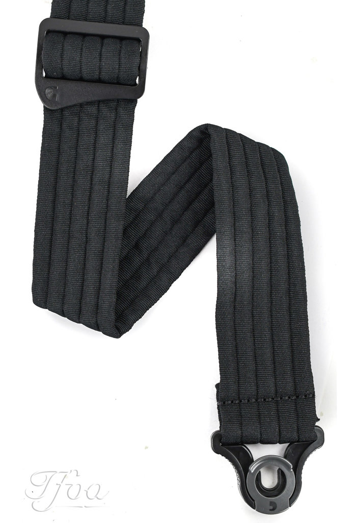 D'Addario Auto Lock Guitar Strap Padded Stripes