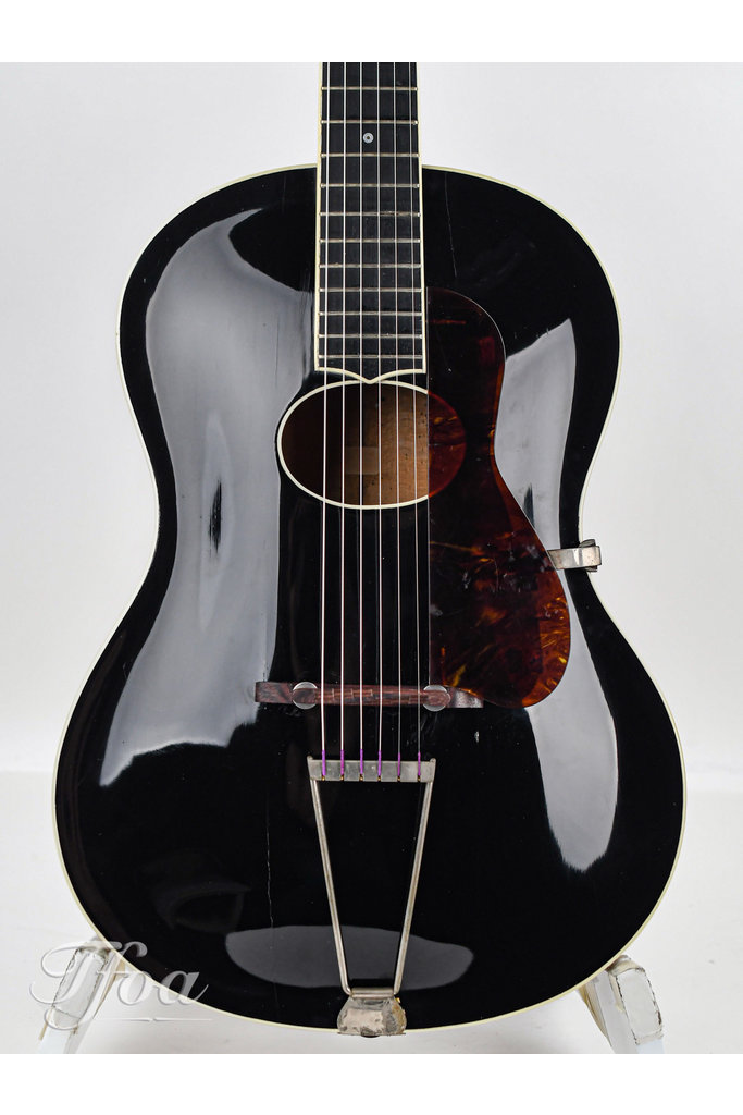 Clifford Essex Paragon Ebony Archtop 1930s