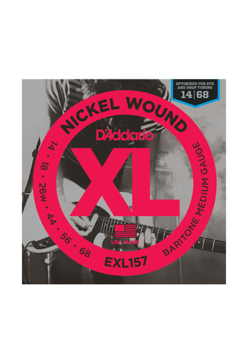 D'Addario D'Addario EXL157 Nickel Wound Baritone Medium 14-68