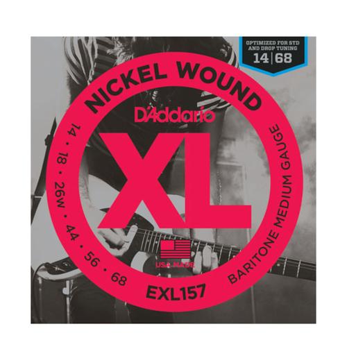 D'Addario D'Addario EXL157 Nickel Wound Baritone Medium 14-68