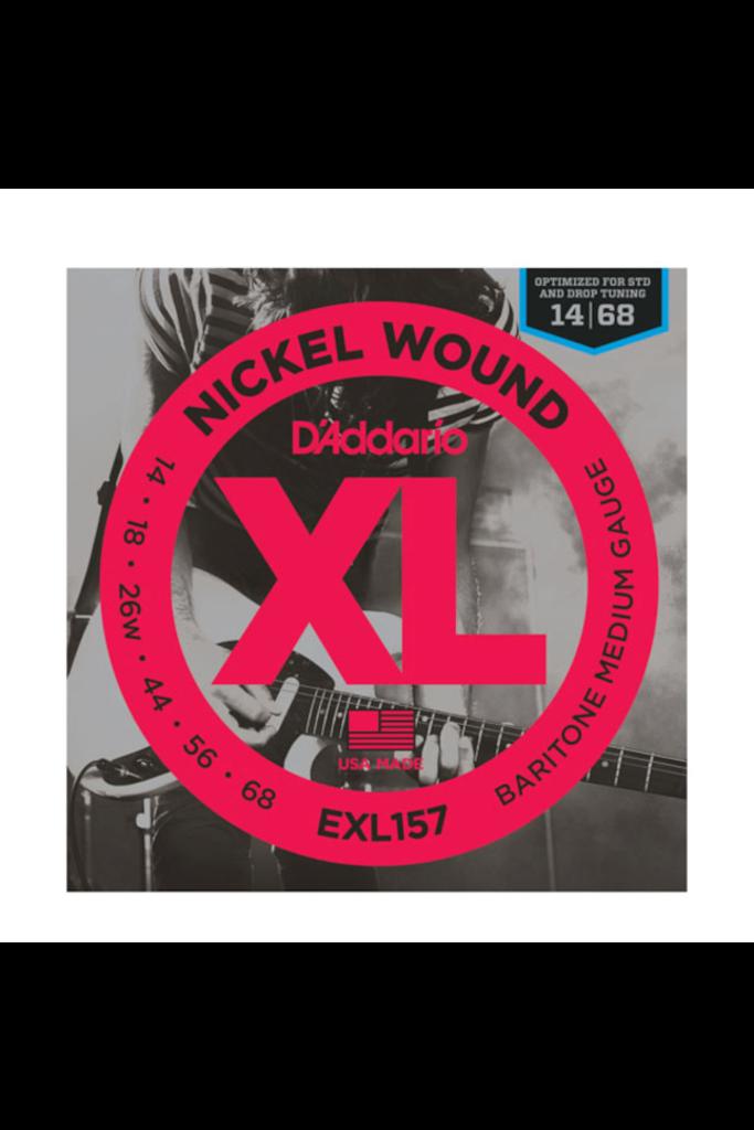 D'Addario EXL157 Nickel Wound Baritone Medium 14-68