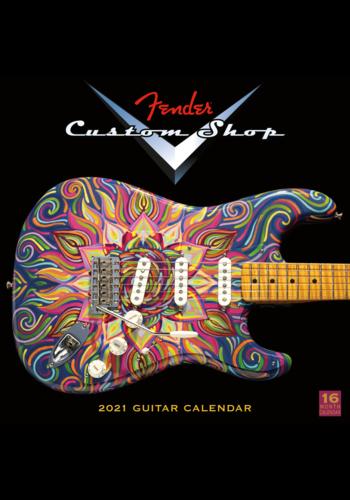 Fender Custom Fender Custom Shop Calendar 2021