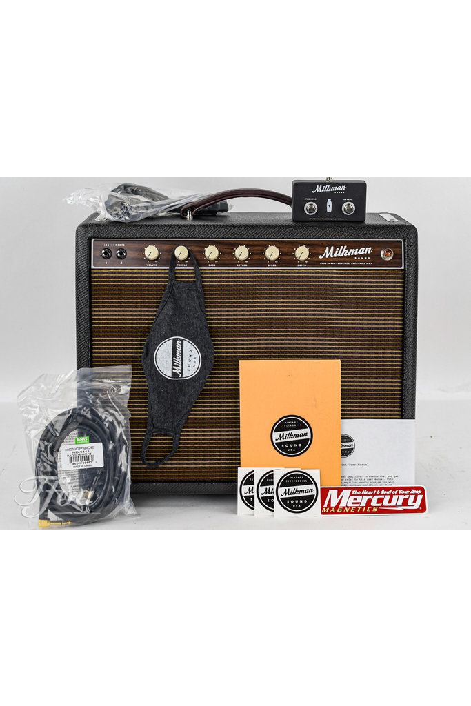 Milkman 10W Pint Combo Black Tweed Celestion Greenback