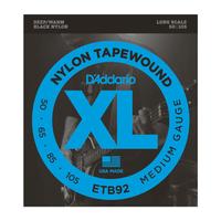 D'Addario ETB92 Tapewound Medium 50-105 Long Scale