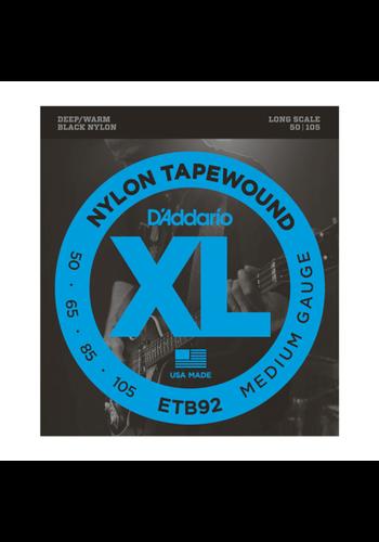 D'Addario D'Addario ETB92 Tapewound Medium 50-105 Long Scale