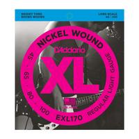 D'Addario EXL170 45-100 Nickel Wound Bass Strings