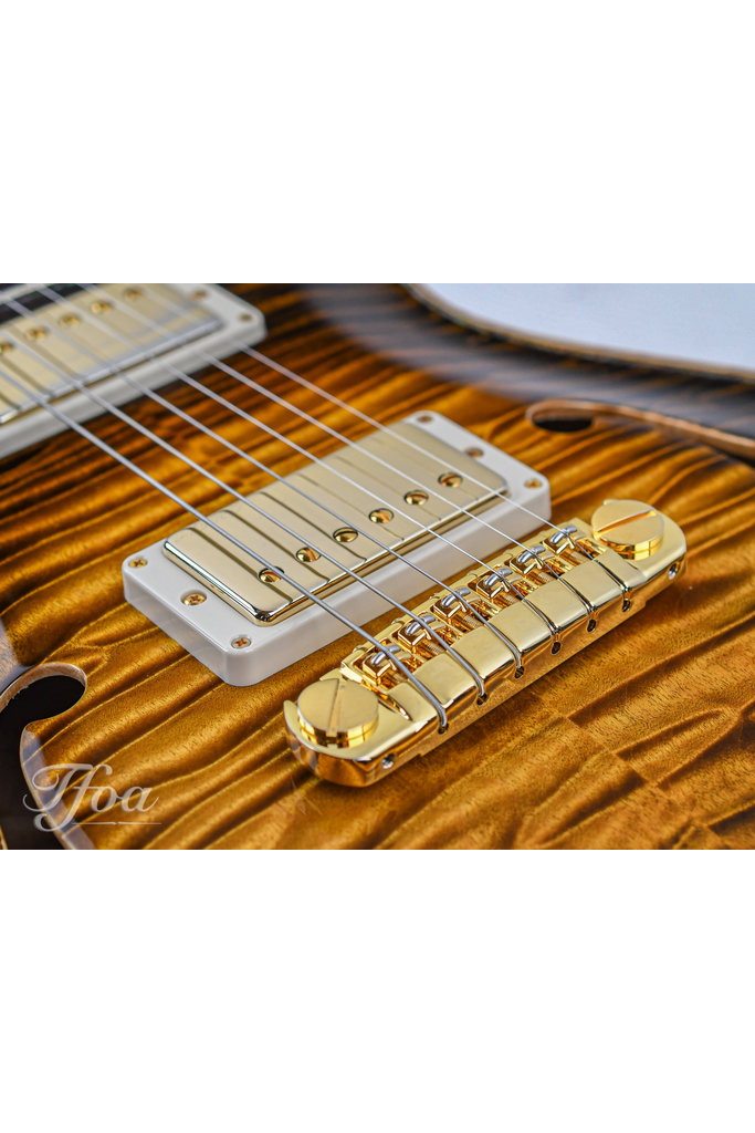 PRS Private Stock TFOA Special Hollowbody II Tiger Eye Glow