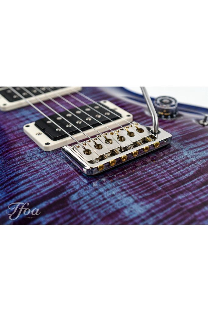 PRS 35th Anniversary Custom 24 Violet Blue Burst