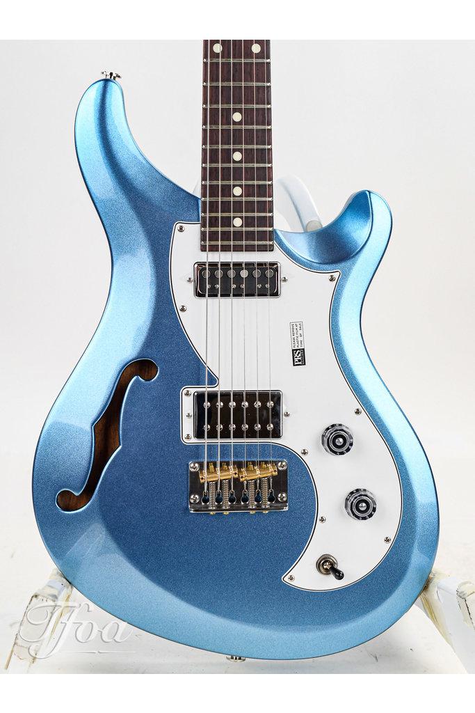 PRS S2 Vela Semi Hollow Frost Blue Metallic