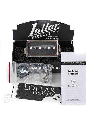 Lollar Lollar Novel 90 Neck Nickel Matte Black