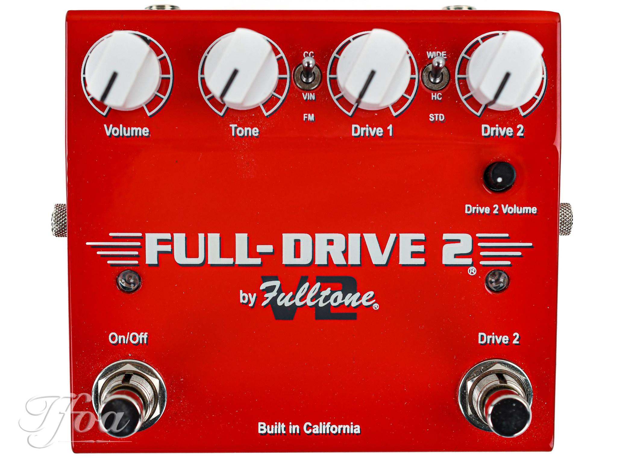Fulltone Fulldrive 2 Overdrive V2