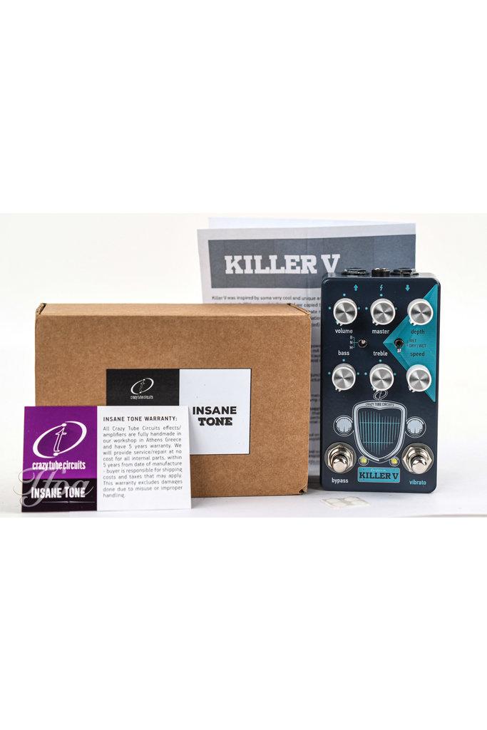 Crazy Tube Circuits Killer V Drive/Tremolo
