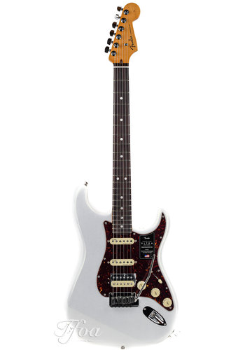 Fender Fender American Ultra Stratocaster Rosewood HSS Arctic Pearl