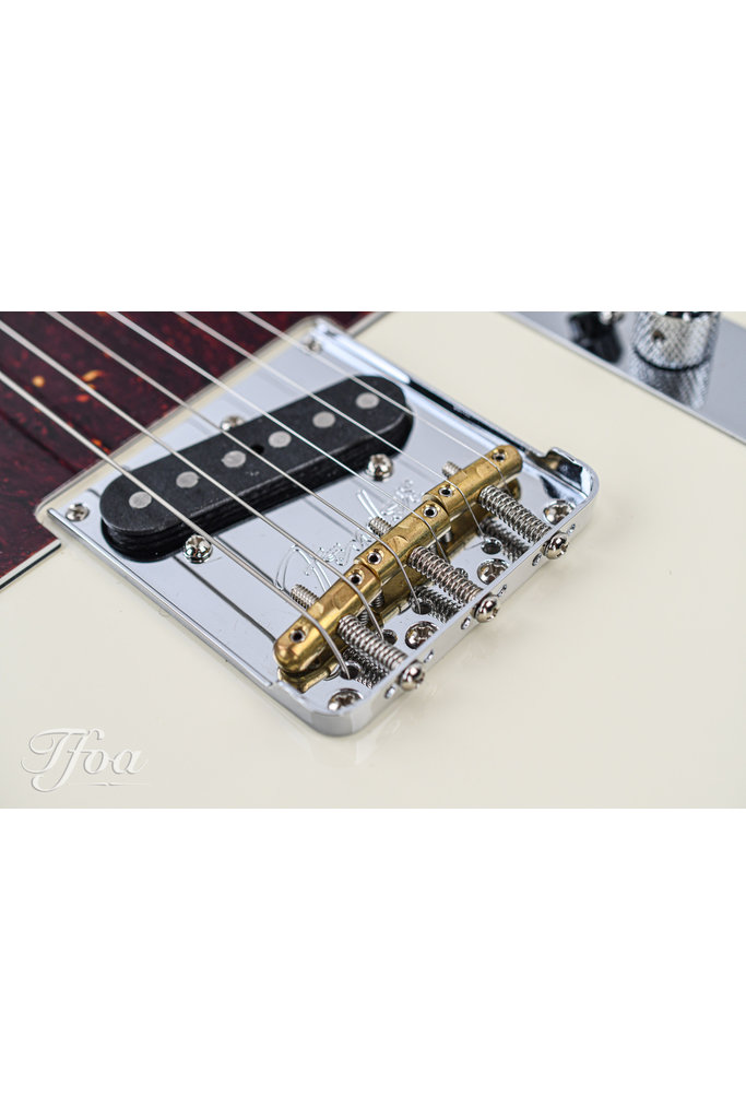 Fender American Pro II Telecaster Rosewood Olympic White