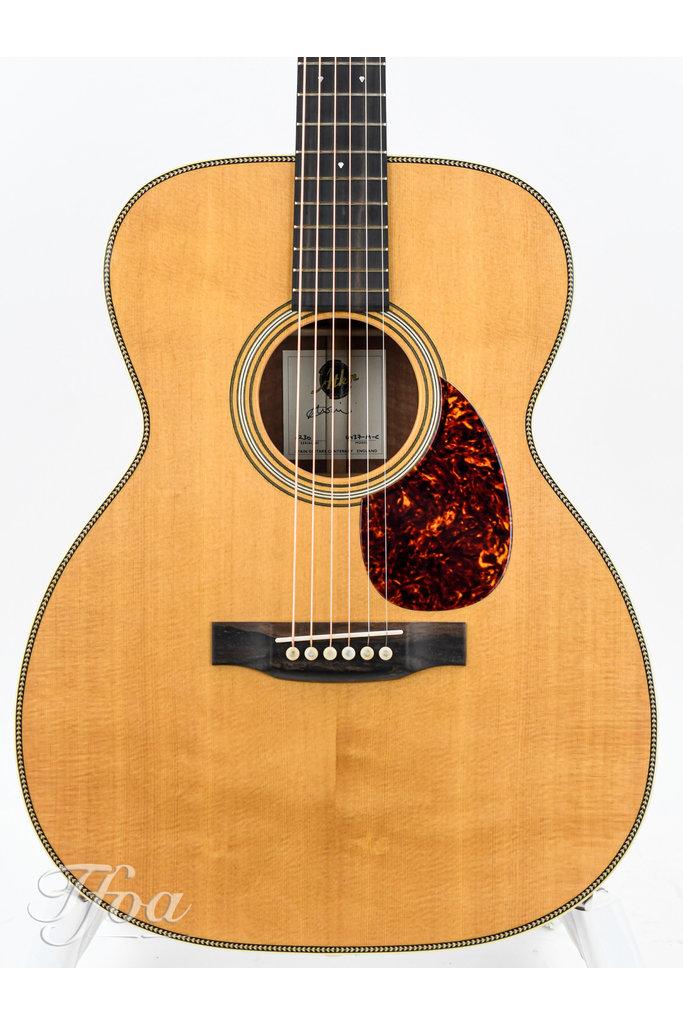 Atkin OM37 Custom Jarrah Spruce