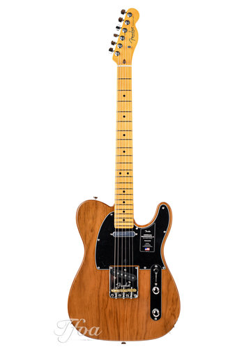 Fender Fender American Pro II Tele Maple Roasted Pine