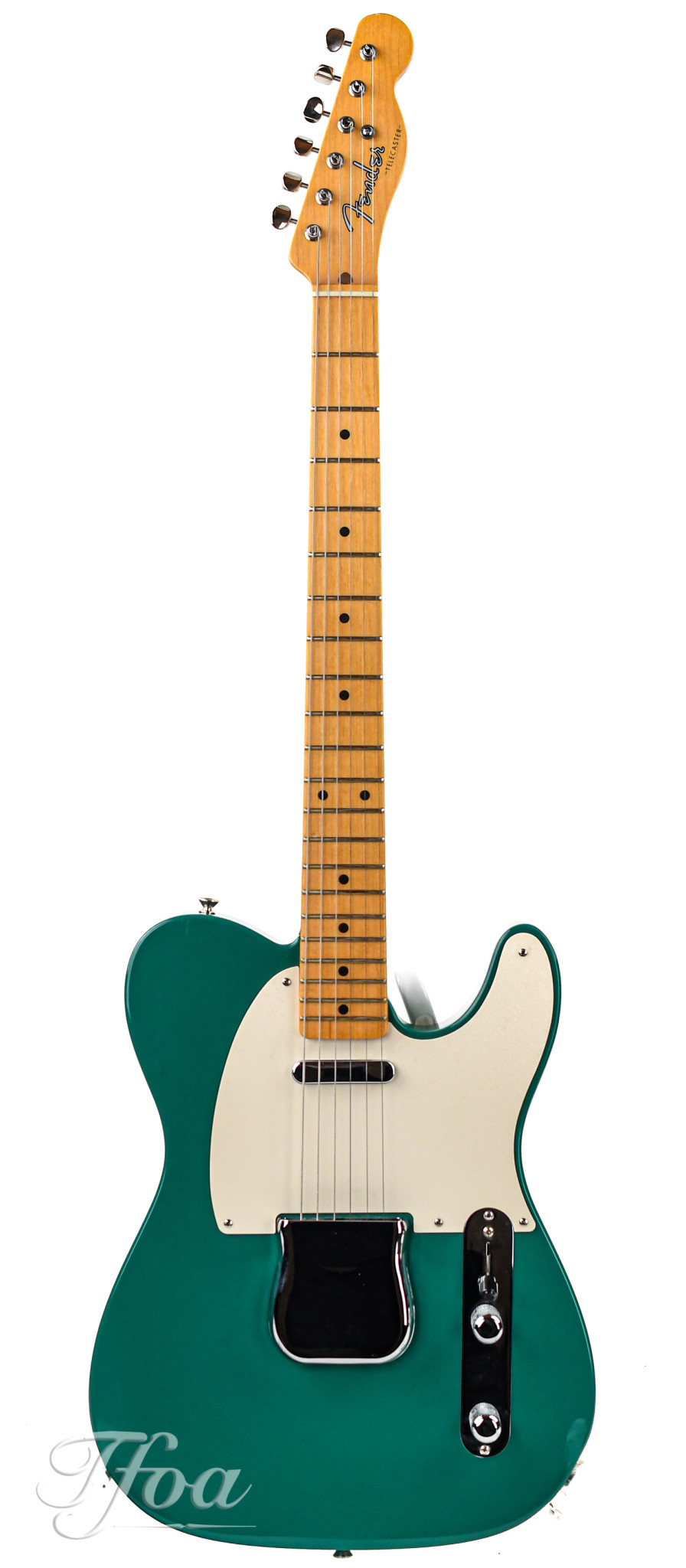Fender Custom Shop NAMM  1950s Telecaster NOS One-Off Biscay Green 2005