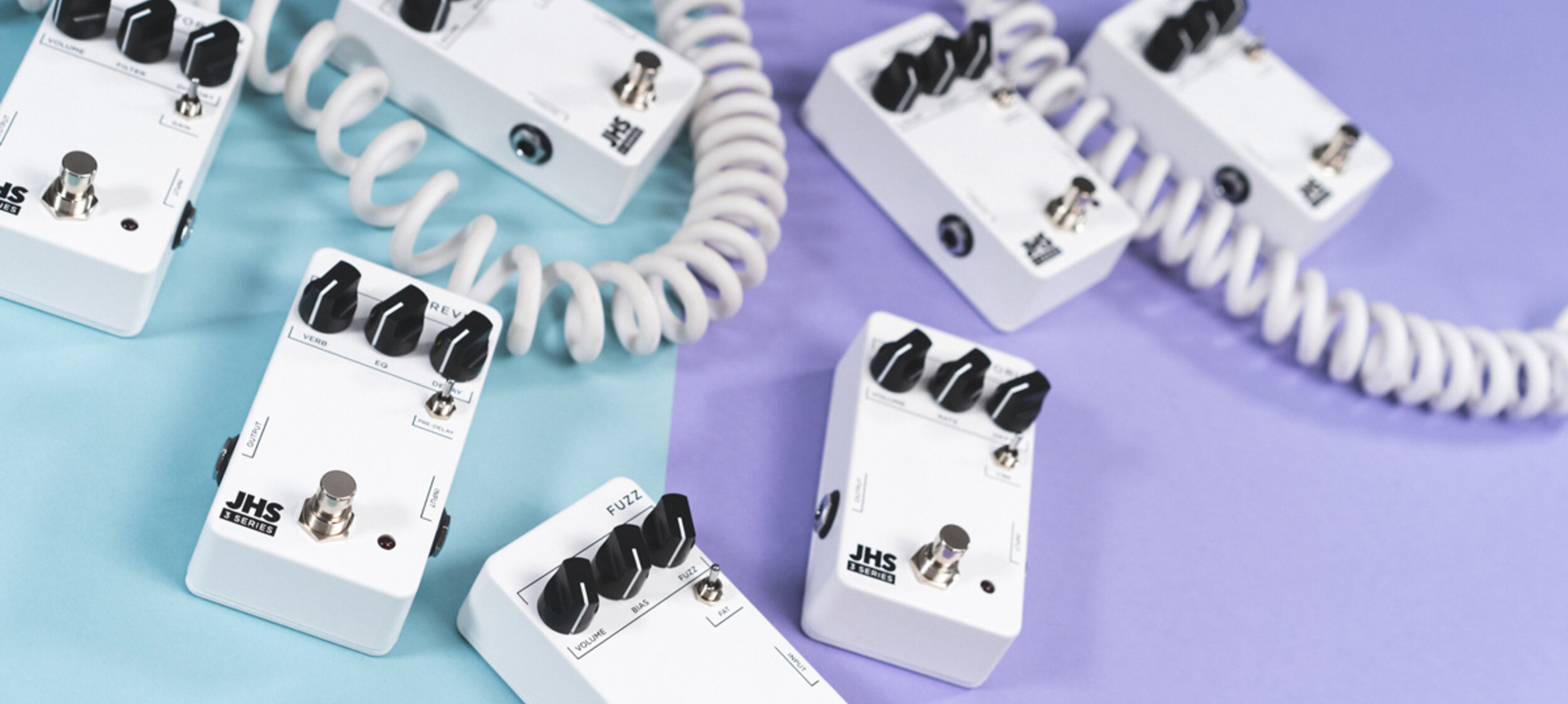 JHS 3  Series Effect Pedals: Just the good stuff.