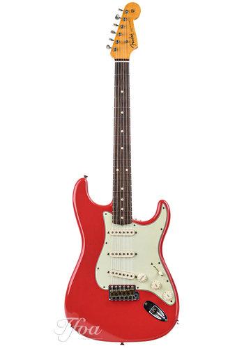Fender Custom Fender 60 Stratocaster Fiesta Red Journeyman Relic  2019