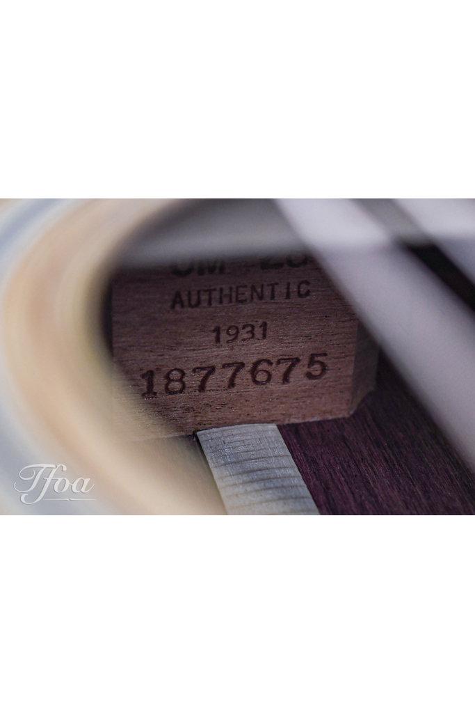 Martin OM28 Authentic  VTS 1931 2015