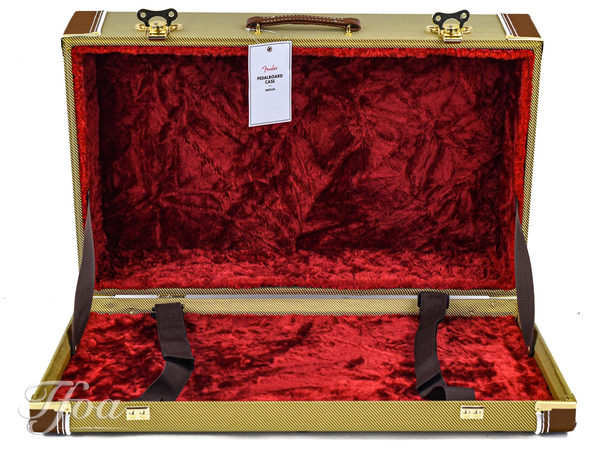 Fender Tweed Pedalboard Case M