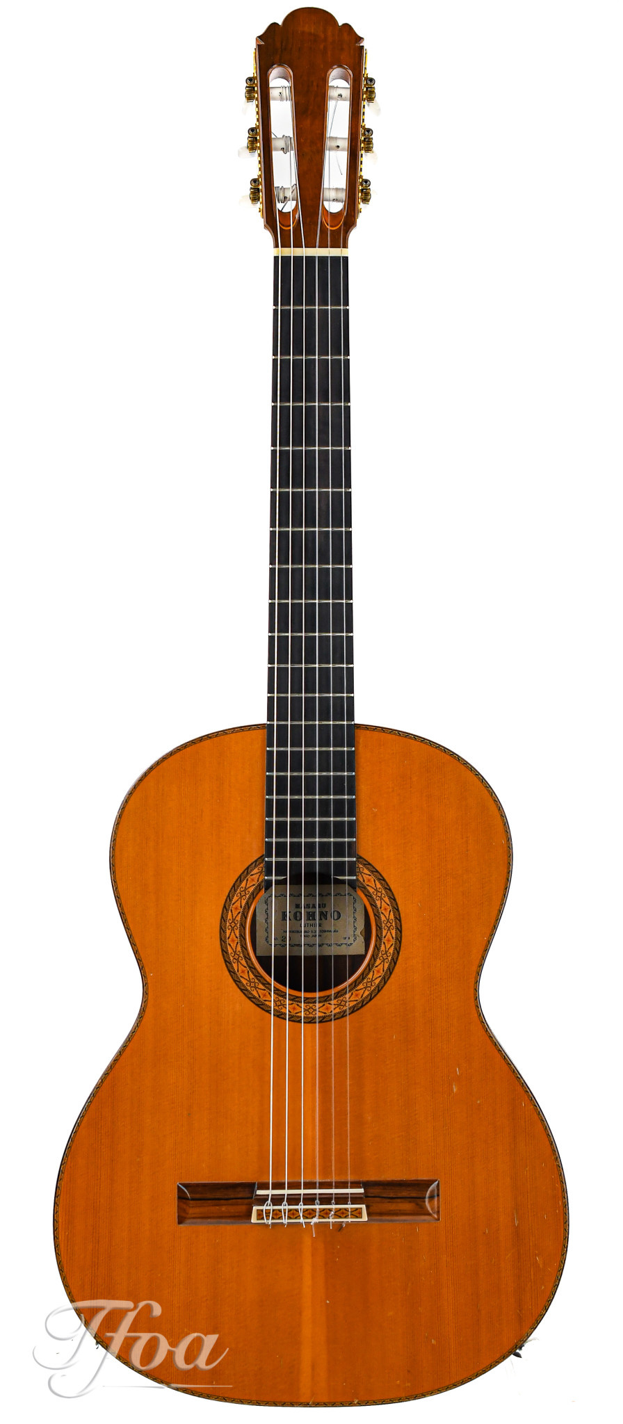 Masaru Kohno no. 20 Brazilian Rosewood  Spruce 1978
