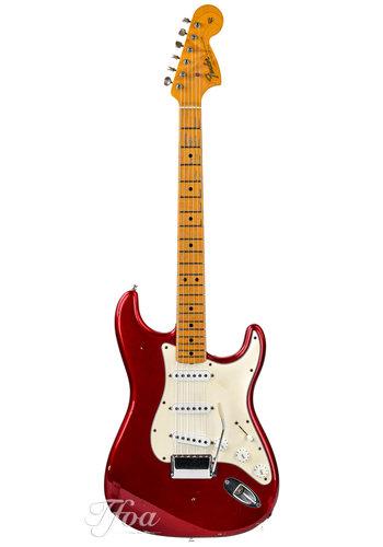 Fender Custom Fender Stratocaster Custom Shop 1966 Candy Apple Red Relic 2004