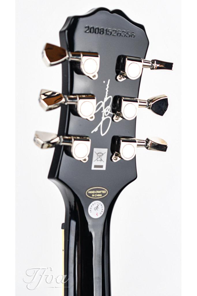 Epiphone SG Custom Tony Iommi Ebony Lefty