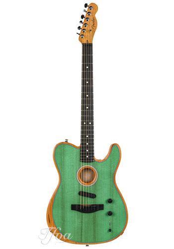Fender Fender Acoustasonic Telecaster Surf Green