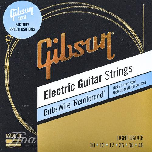 Gibson Gibson Brite Wires Reinforced  010   046