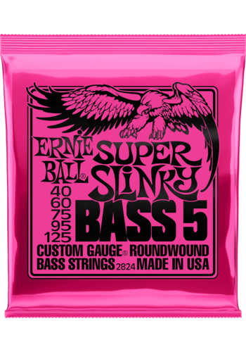 Ernie Ball Ernie Ball 2824 Super Slinky Bass 5 - 40-125