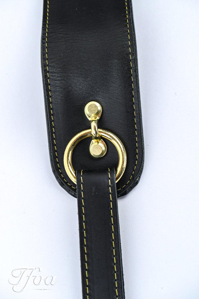 Gibson The Premium Saddle Strap Black