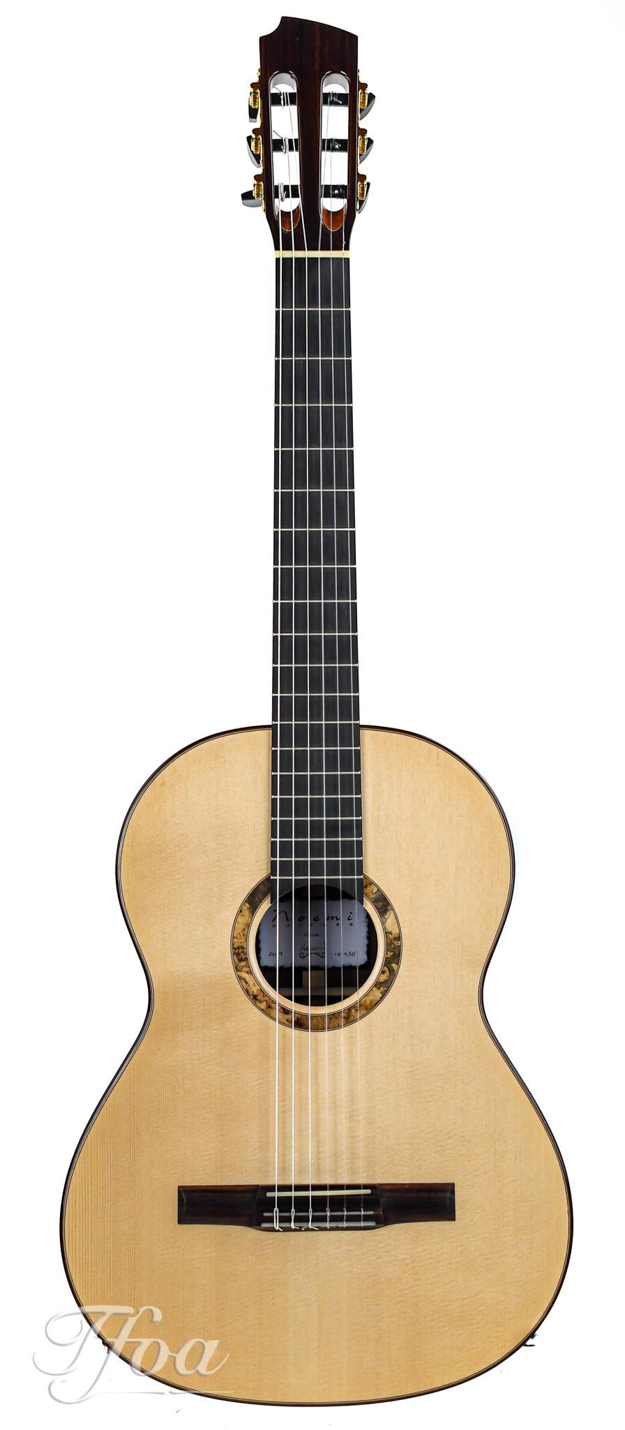 Noemi Classical Guitar IRW Spruce B Stock