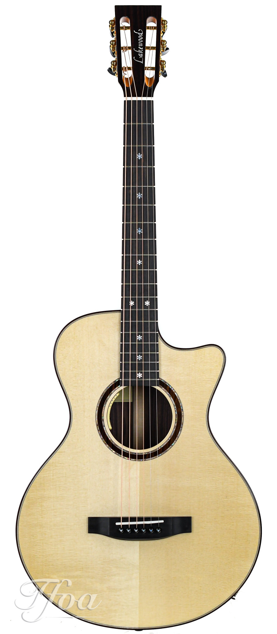 Lakewood A32 CP 12 Fret Rosewood European Spruce