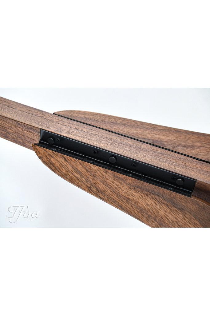 Solid Ground Standard Guitar Stand Walnut