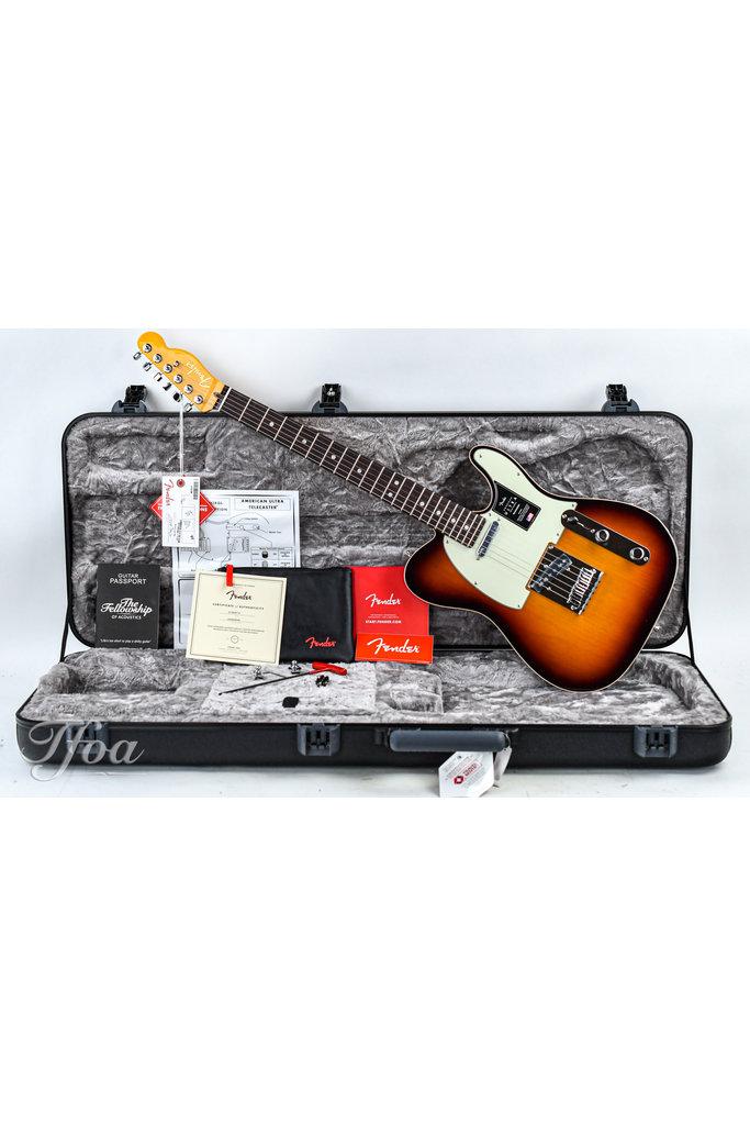 Fender American Ultra Telecaster Rosewood Fingerboard Ultraburst