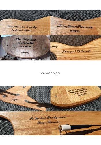 Ruwdesign Engraving Ruwdesign