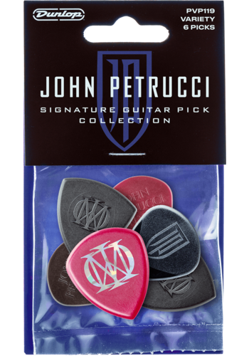 Dunlop Dunlop John Petrucci Signature Plectrum Collection 6 Pack