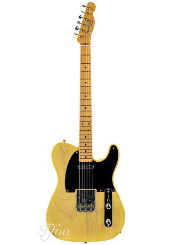 Fender Custom Fender Custom Shop Ltd '52 Telecaster Lush Closet Classic Blonde 2019